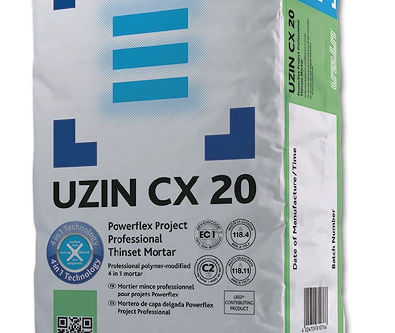 UZIN CX 20 Thinset Mortar